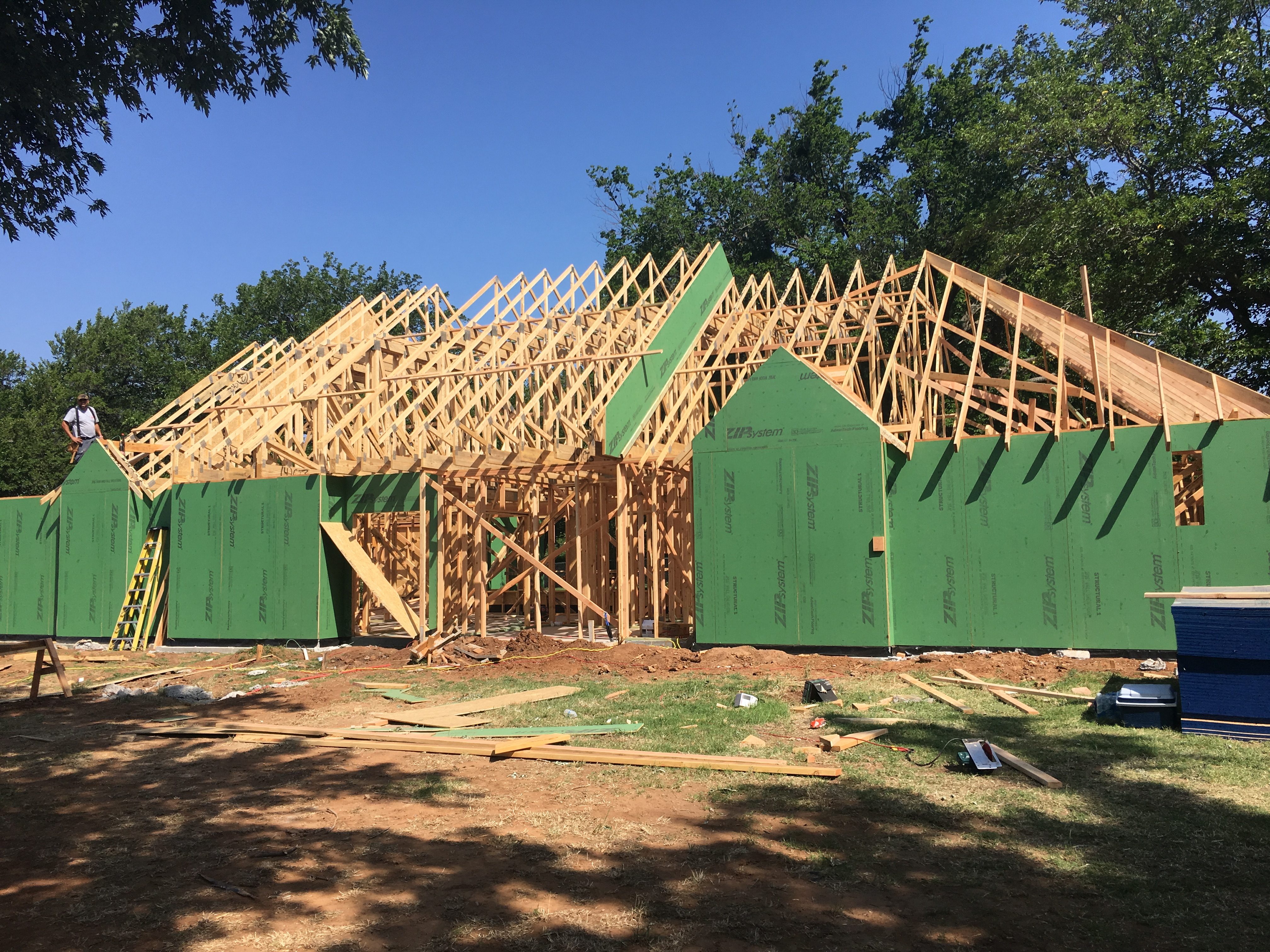 house framing 1 story