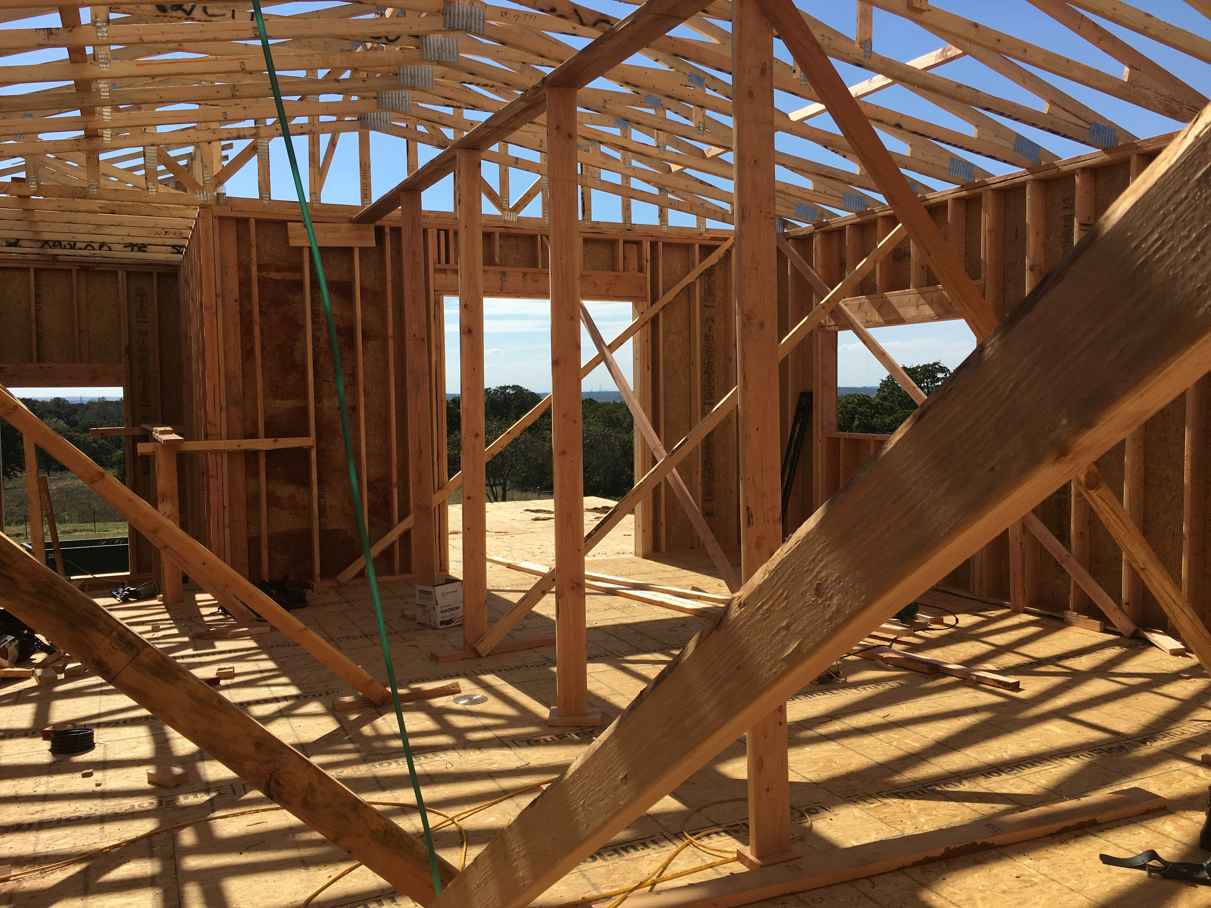 Framing-house-inside